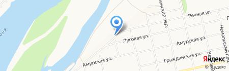 Мастер-Крот на карте Бийска