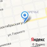 Корзинка Михайловых-3 на карте Бийска