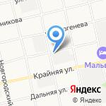 Кольцовский на карте Бийска