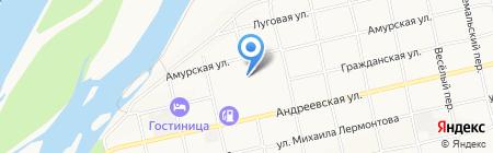 Бетонстрой на карте Бийска