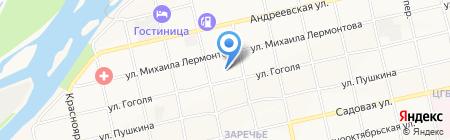 Храм в честь Казанской иконы Божией Матери на карте Бийска