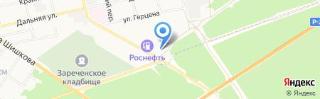Бизнесстрой на карте Бийска