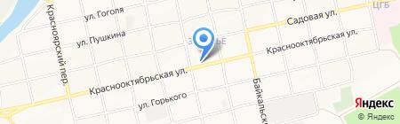 АВТОБУМ на карте Бийска