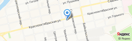 Строительная компания на карте Бийска