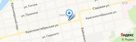 Редуктор на карте Бийска