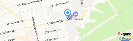 Архивный отдел на карте Бийска