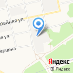 АлтайЗнак на карте Бийска
