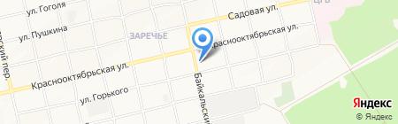 Почтовое отделение №23 на карте Бийска