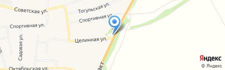 АГЗС на карте Бийска