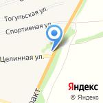 Алтайгазификация на карте Бийска