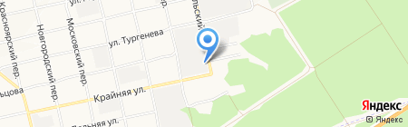 Амадин на карте Бийска