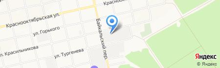 Концентрат на карте Бийска