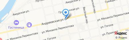 Вест-Ост на карте Бийска