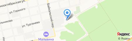 Производственно-строительная фирма на карте Бийска