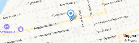 Метизы на карте Бийска