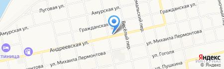 Библиотека №6 на карте Бийска