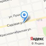 Корзинка Михайловых-4 на карте Бийска