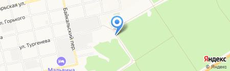 Компания по производству керамических изделий на карте Бийска