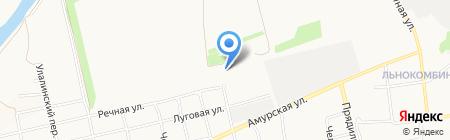 Перерабатывающая компания на карте Бийска