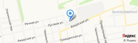 Наладчик на карте Бийска