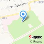 Центральная городская больница на карте Бийска