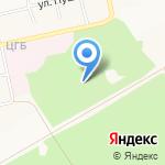 Городская психиатрическая больница на карте Бийска