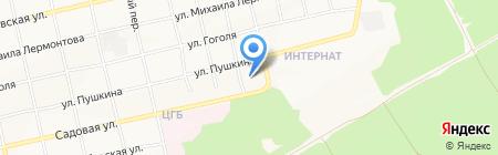 ПолиСнаб на карте Бийска