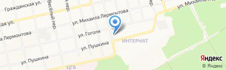 Почтовое отделение №34 на карте Бийска