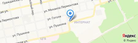 Захватите на карте Бийска