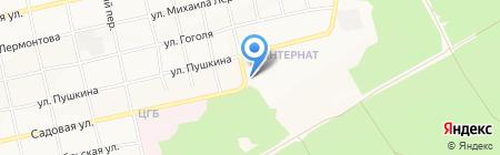 Детский дом №4 на карте Бийска