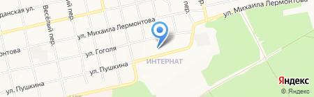 Детский сад №86 на карте Бийска