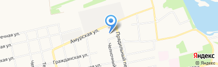Покровская церковь г. Бийска на карте Бийска