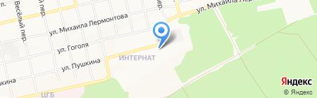 Корзинка Димитрия на карте Бийска