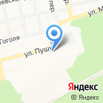 Димитрий на карте Бийска
