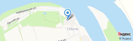 Гавань на карте Бийска