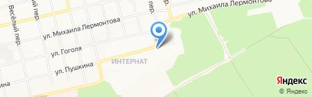 6-я котельная на карте Бийска
