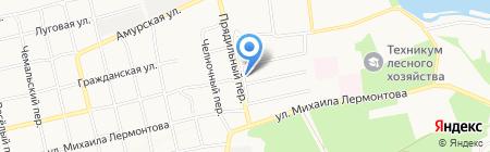Стройпрофиль на карте Бийска