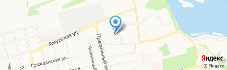 Детский сад №62 на карте Бийска