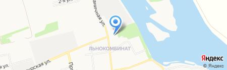 Смешинки на карте Бийска