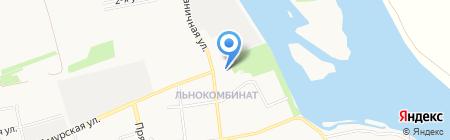 Участковый пункт полиции Отдел полиции Заречье на карте Бийска