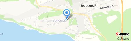 Монастырский на карте Бийска