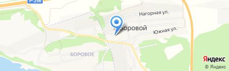 Транспортная компания на карте Борового