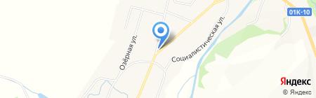 Денлиз на карте Алтайского