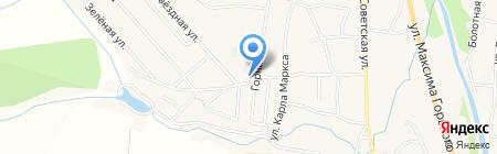 Атлант на карте Алтайского