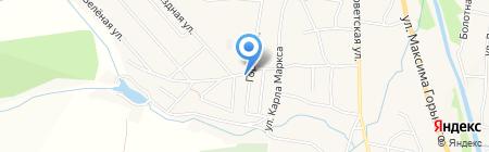 Лазурный на карте Алтайского