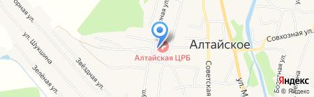 Докторский на карте Алтайского