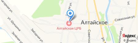 Родильный дом на карте Алтайского