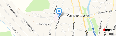 РЕСО-МЕД на карте Алтайского