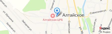 Технический центр ККМ на карте Алтайского