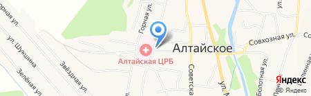 Роспотребнадзор на карте Алтайского